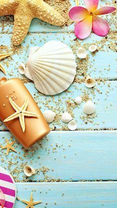 Snails on the sea wallpaper. Snails, sea, beach, sand, vintage, iPhone, Android, Colors marine sazum wallpaper HD 2017.