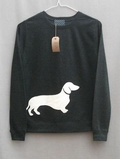 DIY Dachshund sweatshirt #doxie darlin ...........click here to find out more http://googydog.com ___ Trullly LOVE your dogs? VISIT our website now!
