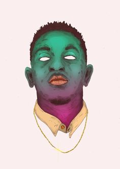 drawing Illustration art trippy Cool music rap dope style rappers graphics inspiration creative portrait artist artwork colour print color Graphic hiphop kendrick lamar asap rocky detail graphic art