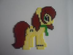 MLP Saskia Hama/Perler/Nabbi fuse beads by DionOfTheNorth on deviantART