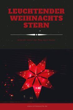 leuchtender Weihnachtsstern
