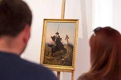 Wystawa malarstwa polskiego - Alfons Dunin Borkowski fot. R. Wyrwich