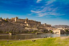 All around the world, there are beautiful castles, citadels, and palaces just waiting for you to visit. Each has its own beauty, its own charm and are a mu Beautiful Castles, World's Most Beautiful, Amer Fort, Archaeology News, Monument Valley, Around The Worlds, America, Mansions, House Styles