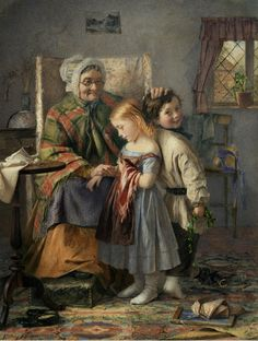 Emily Farmer (British, 1826-1905) Tip Toes