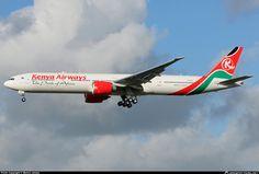 5Y-KZZ Kenya Airways Boeing 777-300