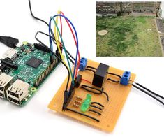 Raspberry Pi Controlled Irrigation System : 12 Steps (with Pictures) - Instructables Aquaponics Fish, Aquaponics System, Hydroponics, Aquaponics Garden, Indoor Aquaponics, Gardening, Arduino Projects, Electronics Projects, Diy Projects