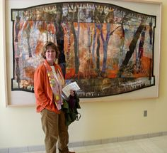 Large Art Textiles - Annie Helmericks-Louder, Artist