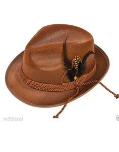 Deluxe Brown Oktoberfest Adult Hat