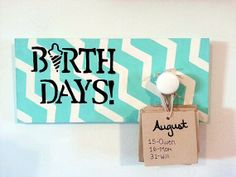 Birthday Boards by sweetboards on Etsy, $25.00