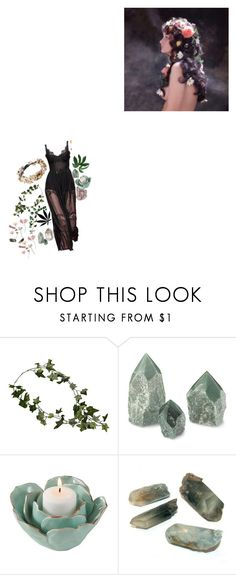 """""""Hippie Witch"""" by thewitchishere ❤ liked on Polyvore featuring Saro Lifestyle"""