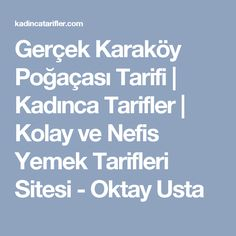 Gerçek Karaköy Poğaçası Tarifi | Kadınca Tarifler | Kolay ve Nefis Yemek Tarifleri Sitesi - Oktay Usta Iftar, Diet Menu, Food Design, Chicken Recipes, Muffins, Food And Drink, Pizza, Cooking Recipes, Sultan