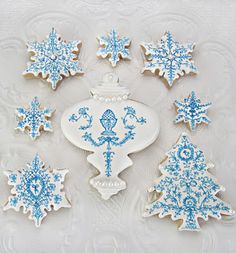 I love these! -Versailles Christmas Cookies.
