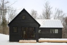 PROJECTS — northern timbers construction is part of Modern barn house - Modern Barn, Modern Farmhouse, Black House Exterior, Dark House, House Goals, House Colors, Home Fashion, Exterior Design, Future House
