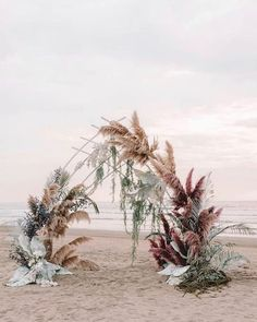 30 Summer Wedding Trends And Ideas , 30 Summer Wedding Trends Ideas ❤ summer wedding trends bohemian beach ceremony with pampas grass and large leaves zhenyaswan . Wedding Ceremony Arch, Beach Ceremony, Ceremony Backdrop, Wedding Arches, Wedding Backdrops, Wedding Ceremonies, Pampas Grass, Wedding Trends, Wedding Blog