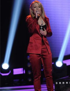 TV Fashion * Show: American Idol * Contestant: Hollie Cavanagh * Tank: Forever 21 * Pants: Bec & Bridge * Jacket: Bec & Bridge * Necklace: Neon Dirt * Rings: Charriol * Earrings: Neon Dirt * Shoes: Bebe