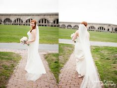 Fort Adams Newport, RI Wedding :|:Marie + Shad