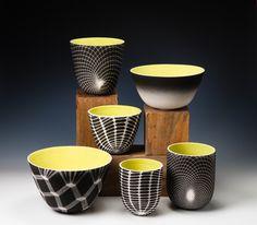 My friend Lauren Kaplan creates the most beautiful porcelain ceramics. http://www.laurenkaplanceramics.com/works/porcelain/