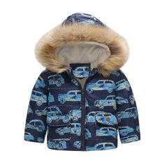 42c976db9e82 Autumn Winter Warm Baby Boy Girls Christmas Fleece Coats Santa Claus ...