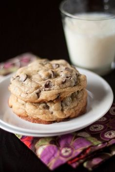 The best chocolate chip cookie recipe. Ever.