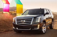 2015 Cadillac Escalade Front Side View