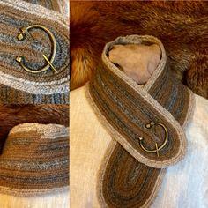 Nalbinded scarf Nålbindning