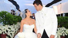 Kim Kardashian and Kris Humphries wedding