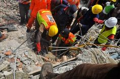 Mother, Child, 16 Others Die as 5-Storey Building Collapses