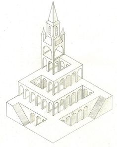 Surreal Architectural Drawings By Cinta Vidal Agulló | Pinterest |  Architectural Drawings, Drawings And Urban Landscape