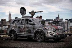 The Hyundai Santa Fe Zombie Survival Machine Makes its Official Debut trendhunter.com