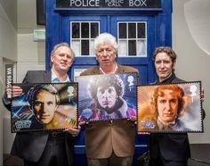 Peter Davison, Tom Baker, and Paul McGann