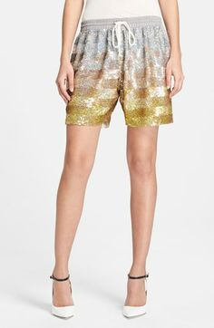 Ashish sequin shorts (for more things drawstring --> http://chicityfashion.com/drawstring-pants/)