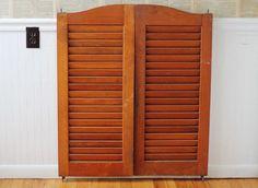 Vintage Shutter Saloon Swinging Doors - Wall Art or Wedding Decor - 42 x - Batwing Doors & Popular Double Swing Glass Door-Buy Cheap Double Swing Glass Door ... pezcame.com