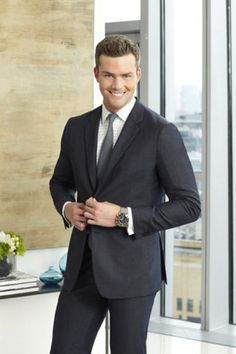 Ryan Serhant from Bravo's Million Dollar Listing New York.  I love him! He's a shark! I loved on his birthday when someone anonomously gave him a snake!