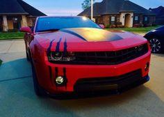 XL Headlight Scar Decal Kit - custom sticker scratch slash beast headlight accessories cars camaro chevy muscle american