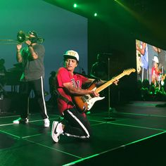 12.07.2017 Bruno performing at a private show in NY