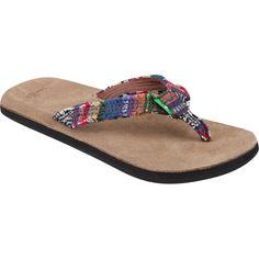 SANUK Fraidy Cat Womens Sandals $35.99