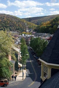 Main Street in Jim Thorpe PA,- Broadway =nh