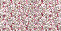 Tissu liberty of London, motif Eloise en rose : Tissus Habillement, Déco par liberty-me