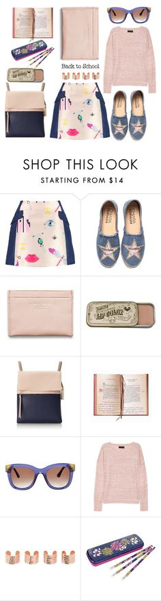 """Back To School"" by emcf3548 ❤ liked on Polyvore featuring Mary Katrantzou, Chiara Ferragni, Acne Studios, Vince Camuto, Thierry Lasry, rag & bone, Maison Margiela and Vera Bradley"