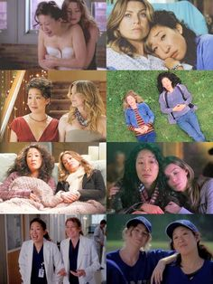 Meredith Grey (Ellen Pompeo) and Cristina Yang (Sandra Oh). Greys Anatomy Gifts, Greys Anatomy Couples, Greys Anatomy Cast, Grey Anatomy Quotes, Greys Anatomy Memes, Cristina Yang, Meredith E Cristina, Meredith And Christina, Callie Torres