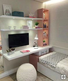 Cute Bedroom Ideas Girls That Will Make a Beautiful Dream - bedroom decorat.- Cute Bedroom Ideas Girls That Will Make a Beautiful Dream – bedroom decoration – - Room Design, Bedroom Themes, Awesome Bedrooms, Bedroom Design, Home Decor, Girl Room, Stylish Bedroom, Small Bedroom, Cute Bedroom Ideas