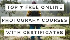 Top 17+ Best Online Photography Courses Of 2020! [Free + Paid]