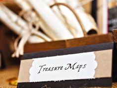 Pirate Party Must-Have: Treasure Maps