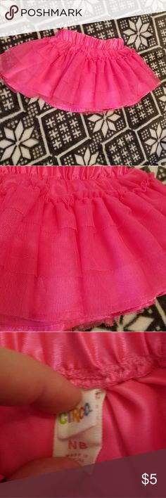 Baby girl tutu Baby girl tutu. Hot pink color. Pre-owned. Good condition. Size newborn. Circo Bottoms Skirts