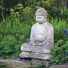 Garden Buddha- have always wanted one of these on my garden