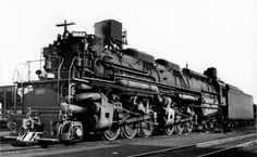 C&O Steam Locomotive #1637, Allegheny H-8 2-6-6-6, Richmond, VA c.1956