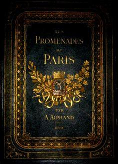 Les Promenades de Paris: J. Rothschild, Editeur, First edition. Vintage Book Covers, Vintage Books, Old Books, Antique Books, Einstein, Vintage Industrial Lighting, I Love Paris, Paris Paris, Paris Decor