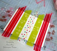 Washi Tape Tutorial for cards