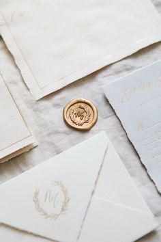 Written Word Calligraphy Design | Vancouver Calligrapher | Modern Romantic Wedding Calligraphy | Handmade Paper Wedding Invitations | http://writtenwordcalligraphy.com