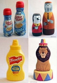 Do It Yourself Craft Ideas – 50 Pics ... @trackconnor something for all those bottles we have?